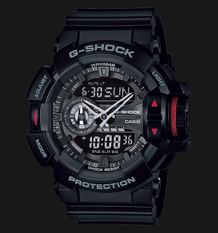 Casio G-Shock GA-400-1BDR (DB) Dash Berlin Limited Edition