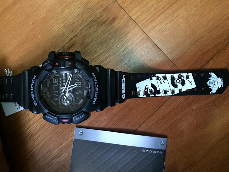 Casio G-Shock GA-400-1BDR (DB) Dash Berlin Limited Edition_